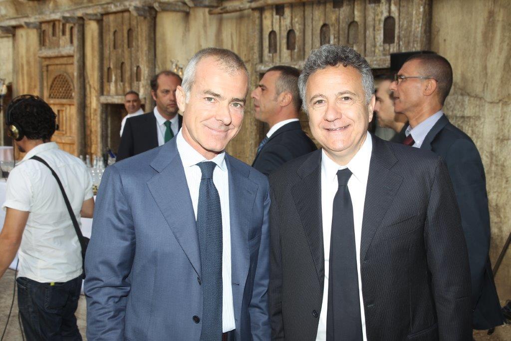 Giampaolo Letta e Paolo del Brocco