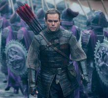"""Box office: """"The Great Wall"""" scala la classifica"""