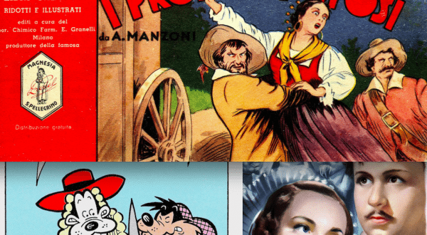 """""""I promessi sposi"""" in 190 anni di fumetti (e un film muto)"""