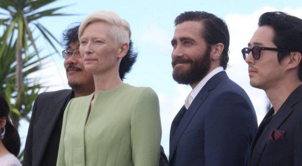 Cannes 70: lo stile unico di Tilda Swinton e Jake Gyllenhaal