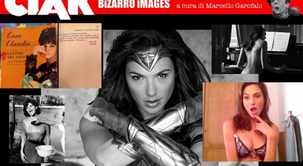"Ciak Bizarro: la ""Wonder Woman"" Gal Gadot e Claudia Cardinale, ""sexiness"" a confronto"