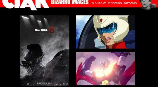 """Ciak Bizarro: tutto quello che dovete sapere su """"Mazinga Z – Infinity"""" alla Festa del Cinema di Roma"""