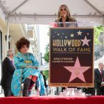 Gina Lollobrigida riceve la stella sulla Walk of Fame di Hollywood