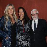 Tiziana Rocca, Rosario Dawson e Claudio Masenza