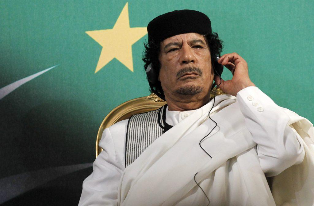Gheddafi Saviano Sky