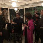 Al Pacino alla festa per Gina Lollobrigida