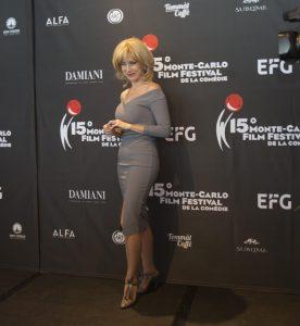 Nancy Brilli al Montecarlo Film Festival