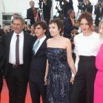 Adriano Tardiolo, Nicoletta Braschi, Alice Rohrwacher, Alba Rohrwacher, Sergi Lopez: red carpet di Lazzaro felice a Cannes 2018