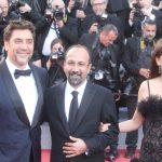 Javier Bardem, Ashgar Farhadi e Penelope Cruz