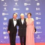 Roberto Benigni, Piera Detassis e Nicoletta Braschi