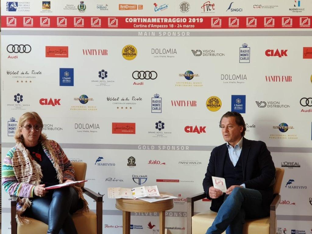 Maddalena Mayneri e Gianpietro Ghedina sindaco Cortina