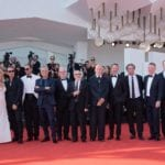 Sorrentino e cast