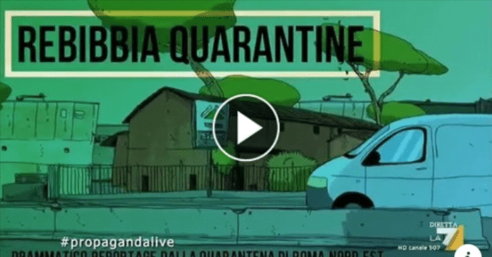 Rebibbia Quarantine, la serie cartoon di Zerocalcare