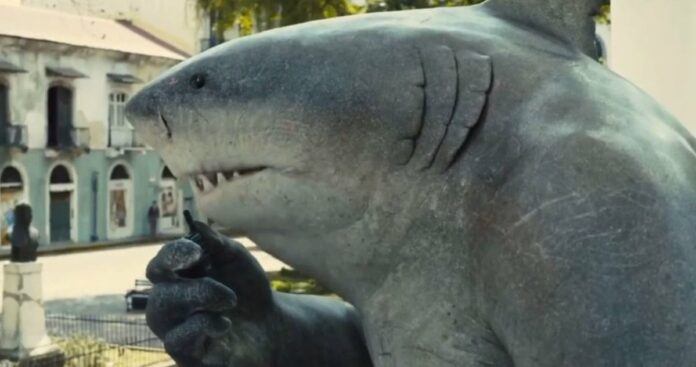 The Suicide Squad - King Shark (Sylvester Stallone)