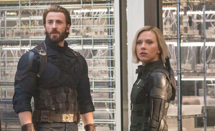 Scarlett Johansson e Chris Evans
