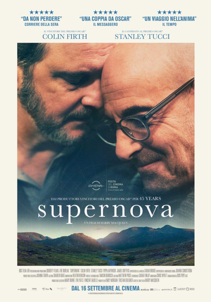 Supernova, con Colin Firth e Stanley Tucci