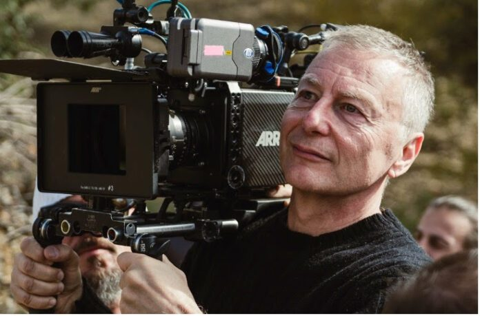 Il regista Milcho Manchevski (foto di Aleksandar Risteski)
