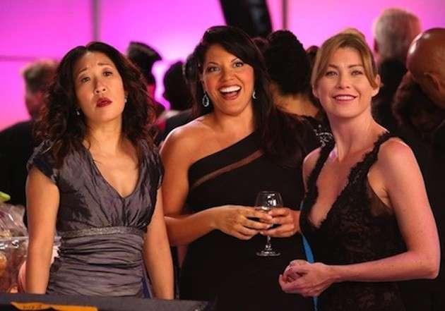 Grey's Anatomy Callie Cristina Meredith