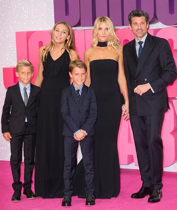 Patrick Dempsey famiglia